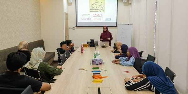 Arabic Calligraphy Workshop by TBK