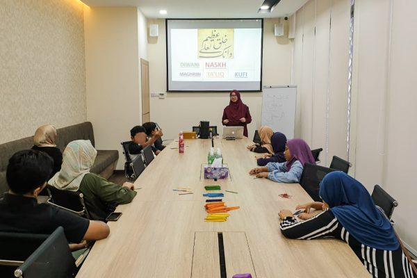 Arabic Calligraphy Workshop by TBK